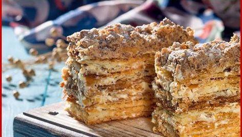 Napóleon torta! A legfinomabb desszert a világon! Már a látványa ínycsiklandó!