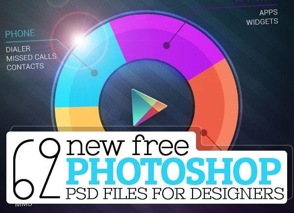 62 New Photoshop PSD Files – Free Download