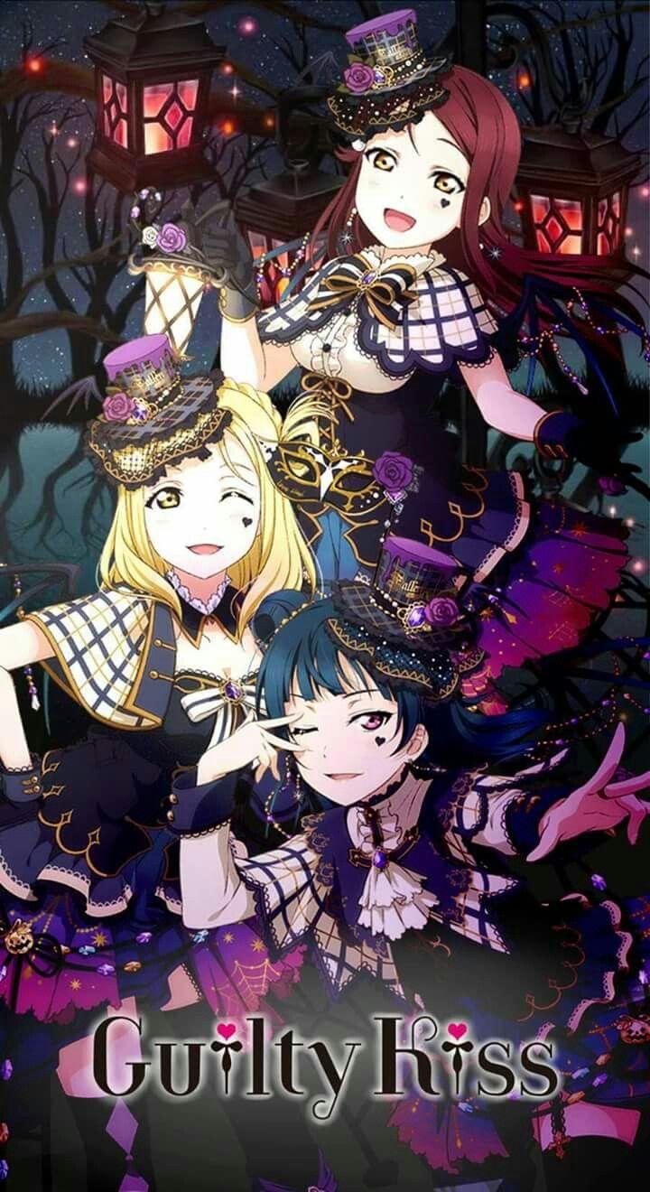 Cat Girl Anime Live Wallpaper Love Live Sunshine Guilty Kiss ♡riko Mari Yohane