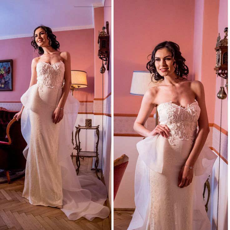 Arum wedding dress, embroidered with ivory beaded lace and hand applied pearl details  #weddingdress #bridalgown #wedding #weddingfashion