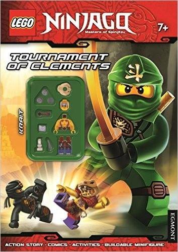 LEGO Ninjago: Tournament of Elements: Activity Book with Minifigure