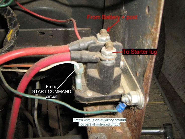 Diagram Deere John Mower Wiring