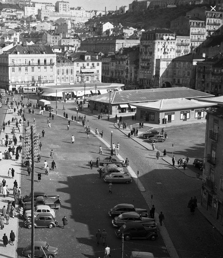 Largo do Martim Moniz, 1952, Lisboa