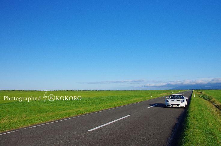 夏の北海道を走る ロータスエリーゼ Run the Hokkaido summer  Lotus Elise