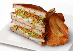 Ballpark Tofu Sandwiches  PNC Park Serves Its 'Toasted Tofu' Sandwich on Gluten-Free Bread (hotnewstrend)