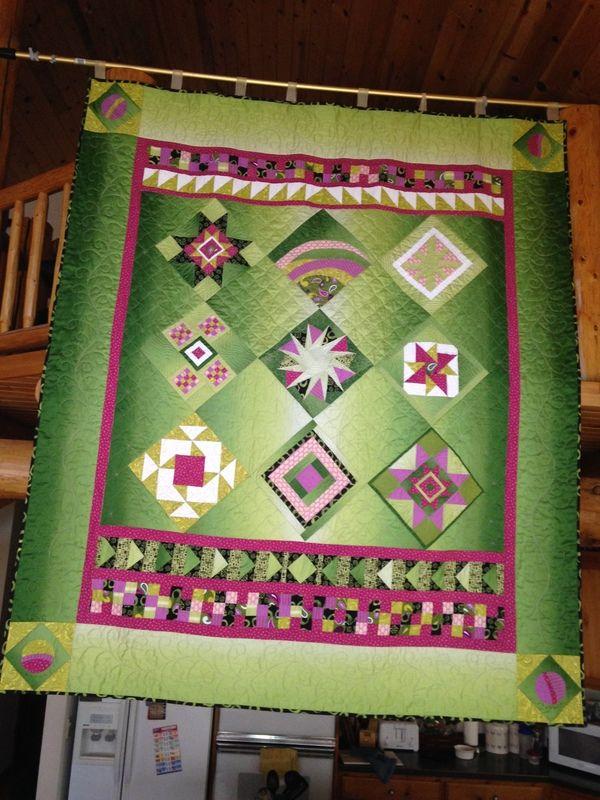 December 16 - Featured Quilts on 24 Blocks - 24 Blocks