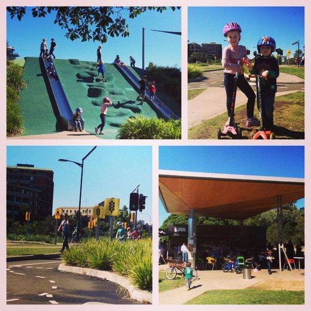 Sydney park at st peters