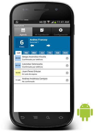 Ahora aplicación para #android especial para nuestros #dentistas #dentalink