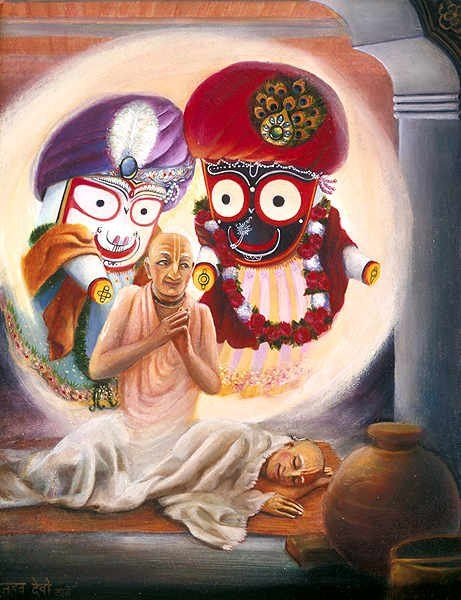 A little mercy from Lord Balaram to Pundarik Vidhyanidi (My fav darshan)