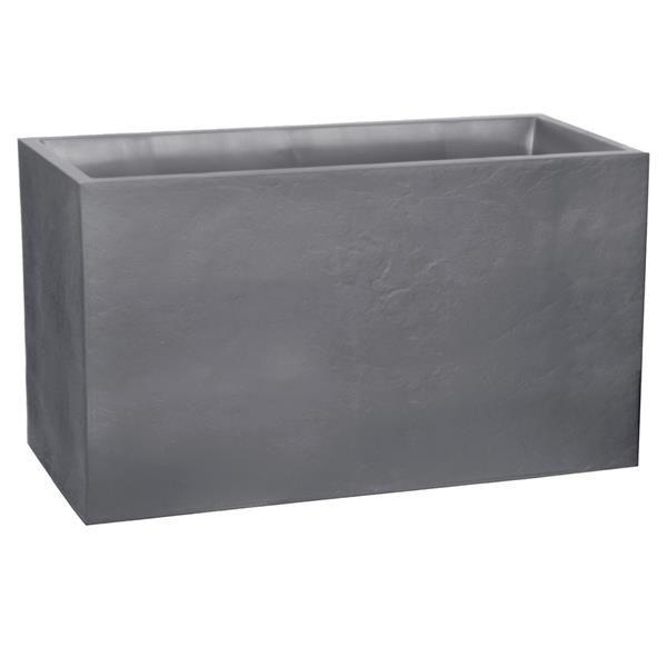 Muret VOLCANIA gris galet - EDA Plastiques