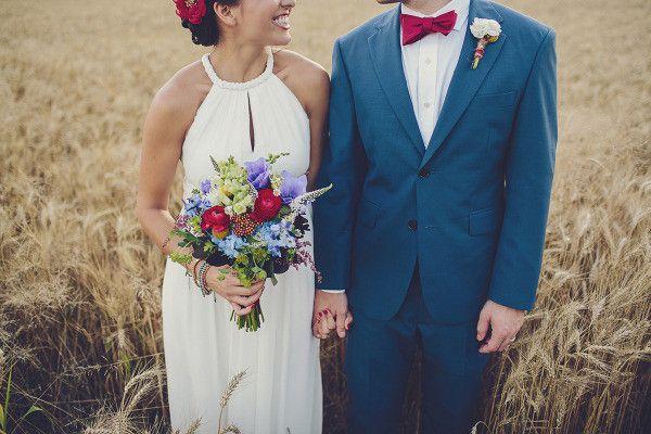 Wunderbare Rot & Blau & Weiß Hochzeit Inspiration | Optimale Karten für Verschiedene Anlässe