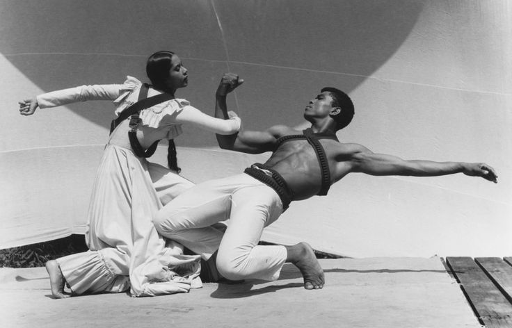 Carmen de Lavallade with Alvin Ailey (1961)
