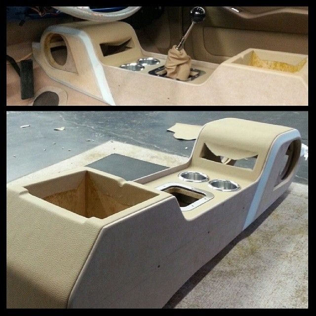 16 Fiberglass Siding Home Design Ideas: Custom Car Interior Console. Custom Console Is Complete In