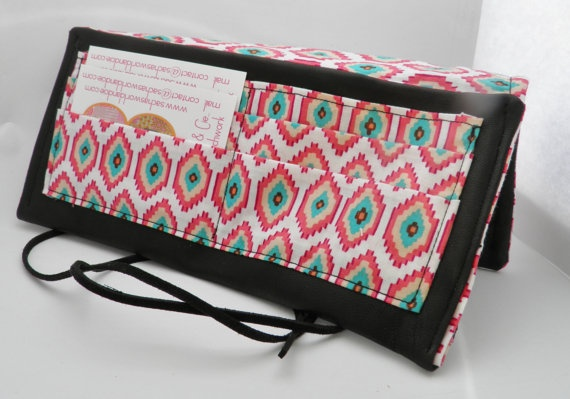 Pouch Sacha Leather Ethnic Chic by sachasworldandcie on Etsy, €34.00