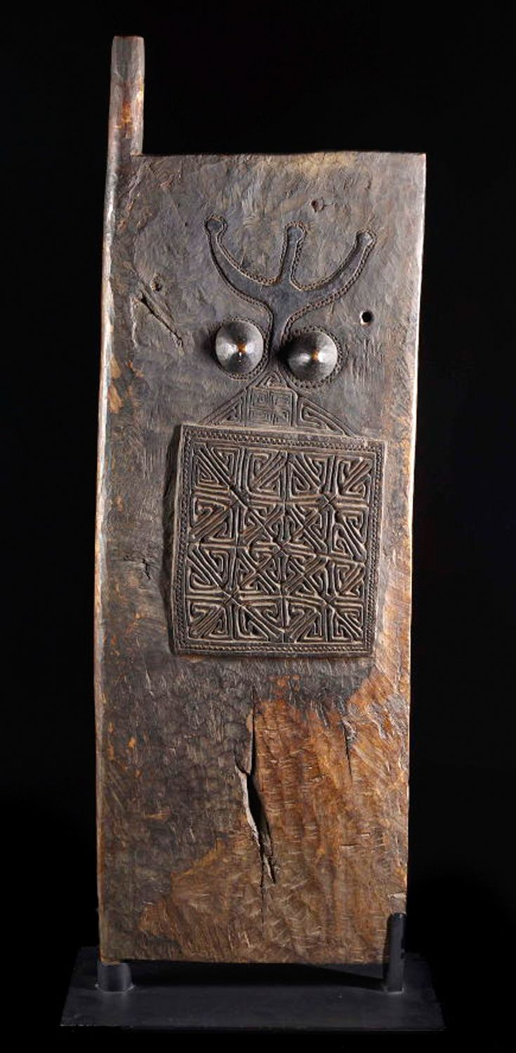 Door from the Tetum people of Indonesia | 19th to early 20th century | Wood