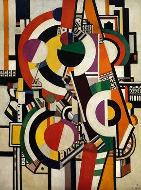 Fernand Léger  Les Disques, 1918