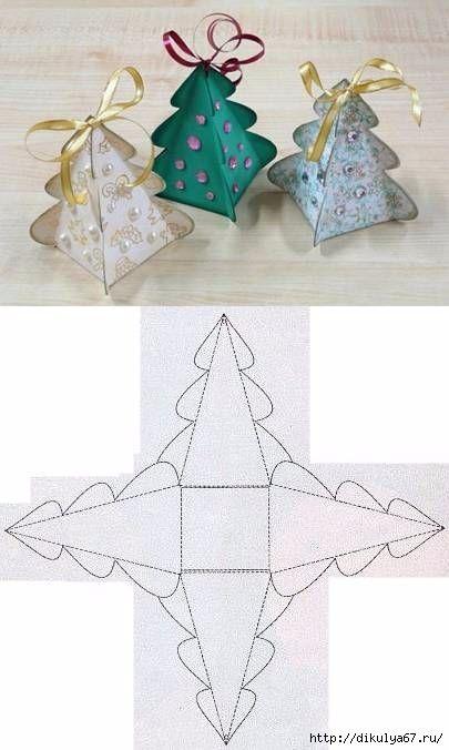 Продолжая тему украшений для Нового года, рассмотрим идеи ёлочек из фетра. В данной подборке представлены варианты таких фетровых елок, даны выкройки, по которым вы без проблем сможете вырезать шаб…