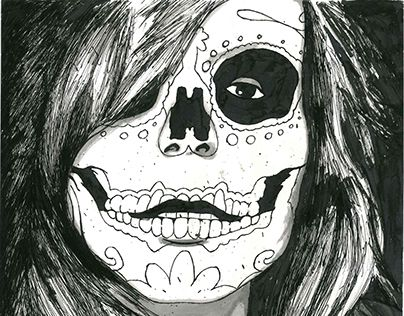 "Check out new work on my @Behance portfolio: ""Illustration: La Muerte"" http://be.net/gallery/52012139/Illustration-La-Muerte"