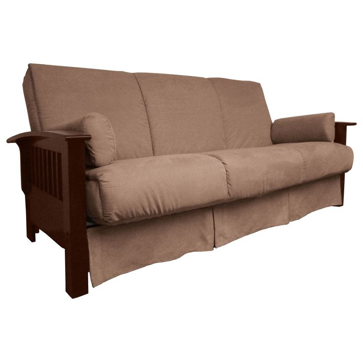 EpicFurnishings Brendan Perfect Sit & Sleep Mission-style Pillow Top Queen-size Sofa Bed