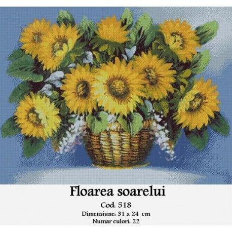 Set Goblen Floarea Soarelui http://set-goblen.ro/flori/3496-floarea-soarelui.html