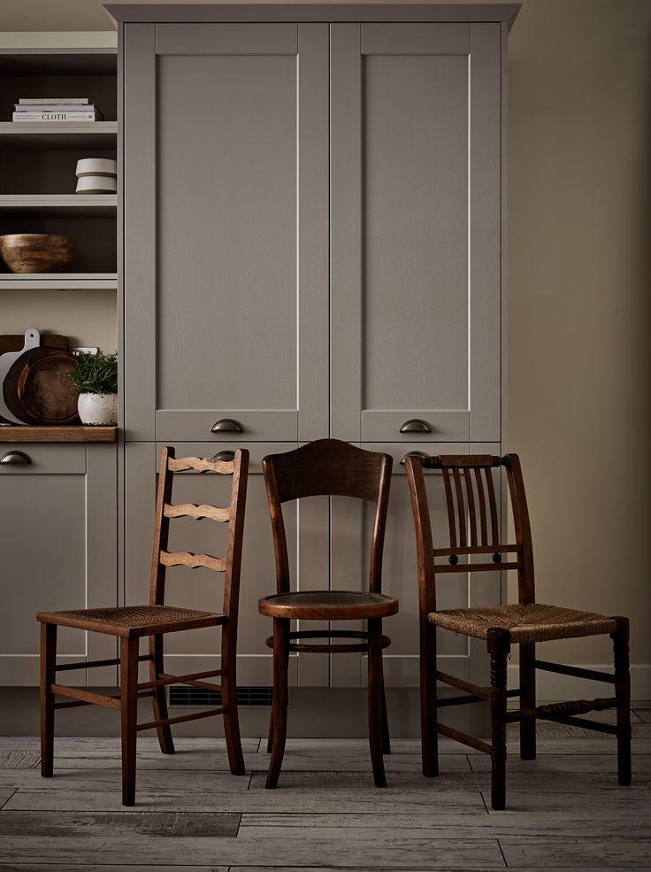 devol kitchens pantry blue