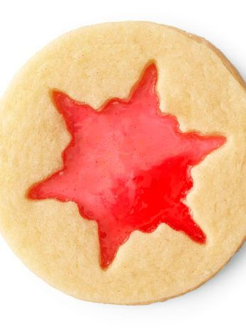 Stained Glass Cookies : Hard candies like Life Savers or Jolly Ranchers make the delicate design on these cookies pop (and taste great, too!).