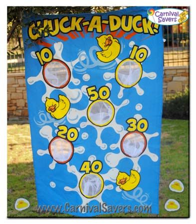 chuck-a-duck-carnival-game.  Hahaha perfect for those plastic floating ducks that won't float right!  Chuck them at a backdrop!