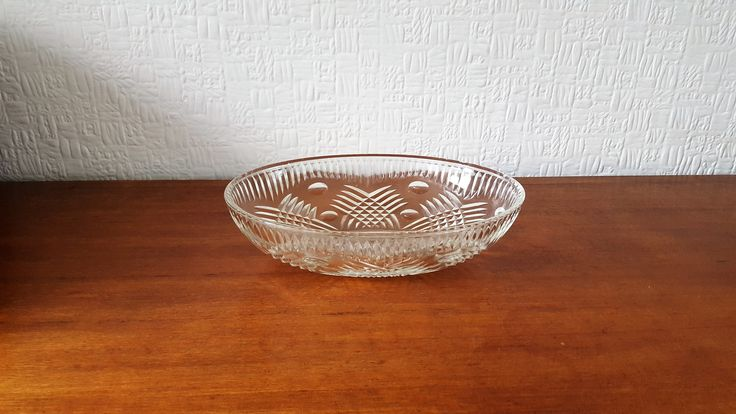 Oval Chance Glass Britannia fruit bowl.  £10 https://www.etsy.com/uk/shop/CuriousTiger