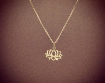 925 Sterling Silver - lotus