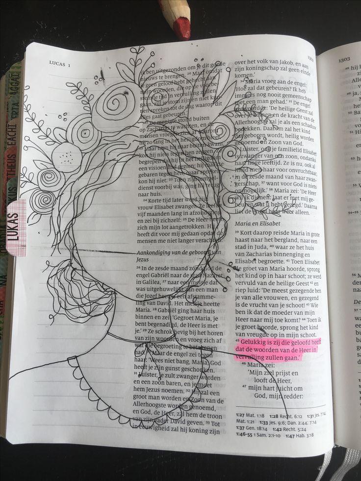 Lukas 1: 45 'Gelukkig is zij die geloofd heeft dat de woorden van de Heer in vervulling zullen gaan.'