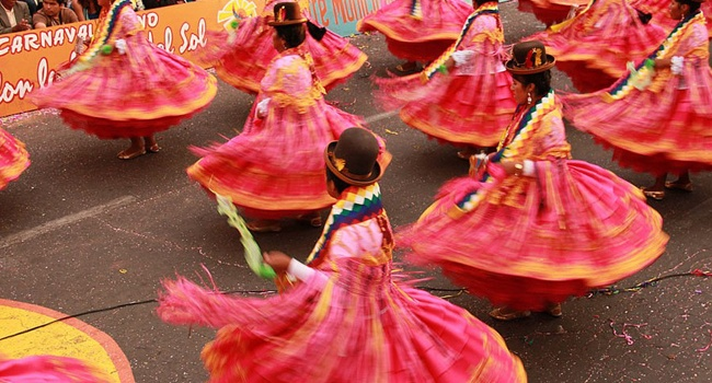 A typical dance from northern Chile.