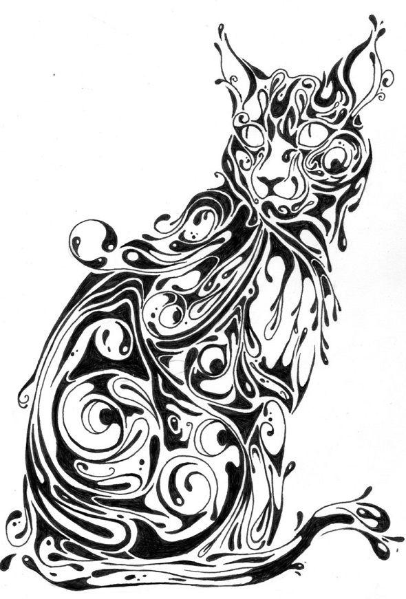 Si Scott animal series - cat