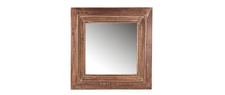 Les 25 meilleures id es de la cat gorie miroirs carr s sur for Miroir 4 murs