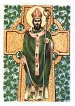 The Breastplate of St. Patrick~  I arise today  Through a mighty strength, the invocation of the Trinity,  Through the belief in the threeness,  Through confession of the oneness  Of the Creator of Creation.