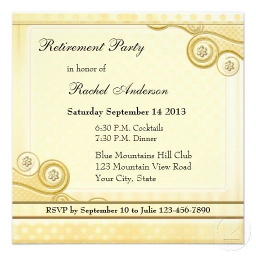 40 best Retirement Party Invites images on Pinterest Invites - retirement party flyer template