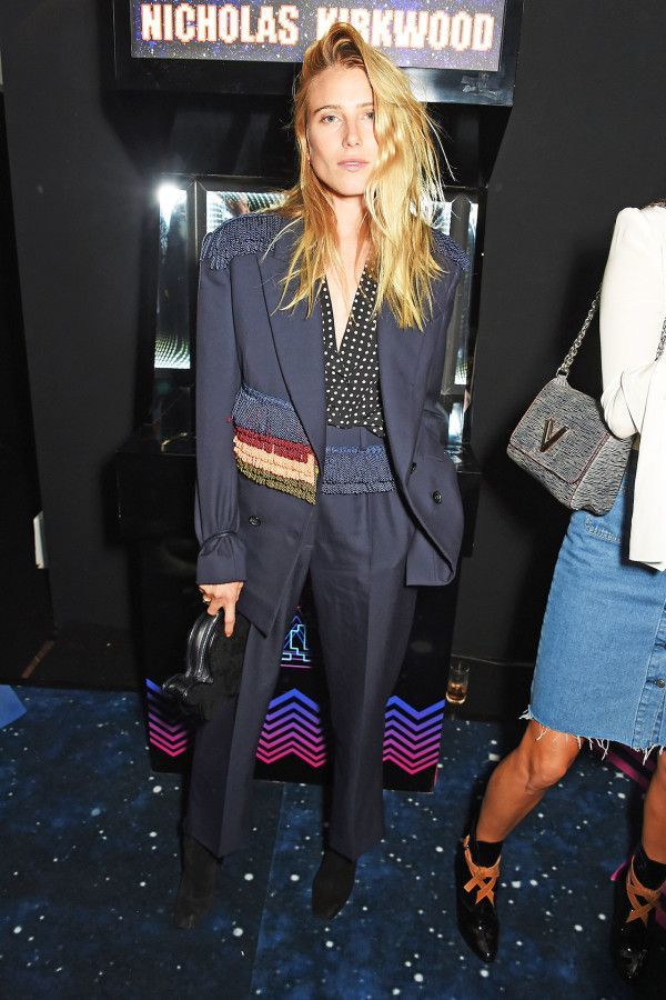 Dree Hemingway - Matchesfashion.com Dinner for the launch of Hillier Bartley @ London Fashion Week.  (19 September 2015)