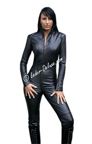 Leather Catsuit TCA5