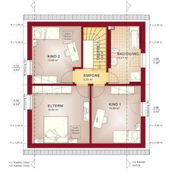 Fertighaus grundrisse einfamilienhaus  Bien Zenker Fertighaus Celebration 134 V1 – Einfamilienhaus ...
