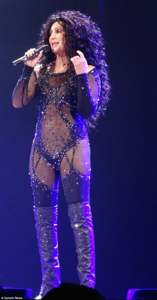 Dressed to Kill: Cher's concert tour certainly lives up to its billing...