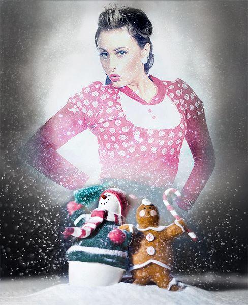 ❄ nur noch 6 Tage bis Weihnachten ❄  www.goinsane.de http://stores.ebay.de/go-insane  #retro #rockabilly #rockabella #vintage #oldschool #SugarShock #fine49 #Sailor #polka dots #Anker #anchor #Karo #gingham #Cherry #Kirsche #Muffin #cupcake #40s #50s