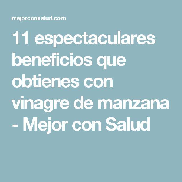1000+ ideas about Vinagre Beneficios on Pinterest
