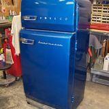 Rebuilt 1956 Philco Combination refrigerator/freezer by AntiqueAppliances.com