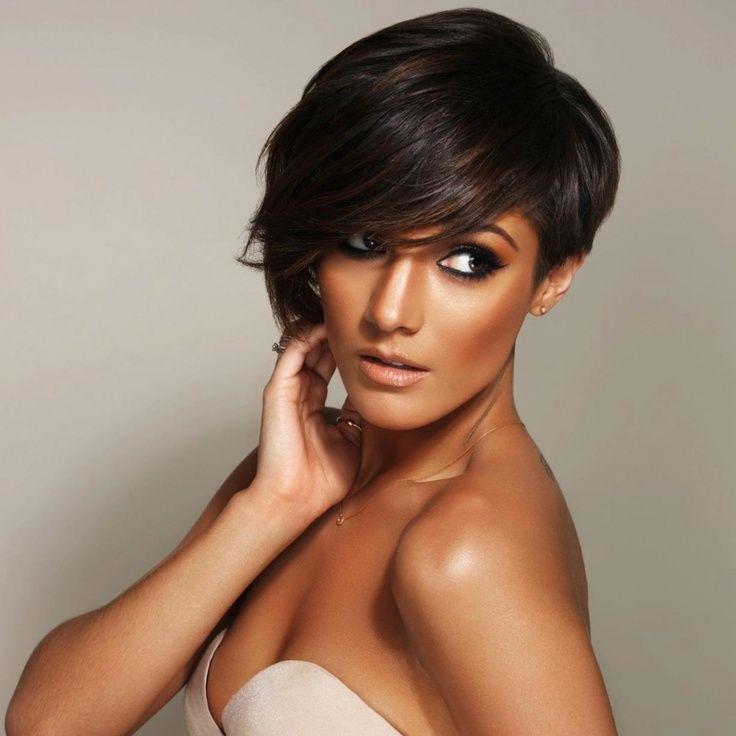 Pixie Cut: The Back Of Frankie Sandfordu0027s Hair. Description From ...  Celebrity Short HairstylesShort ...