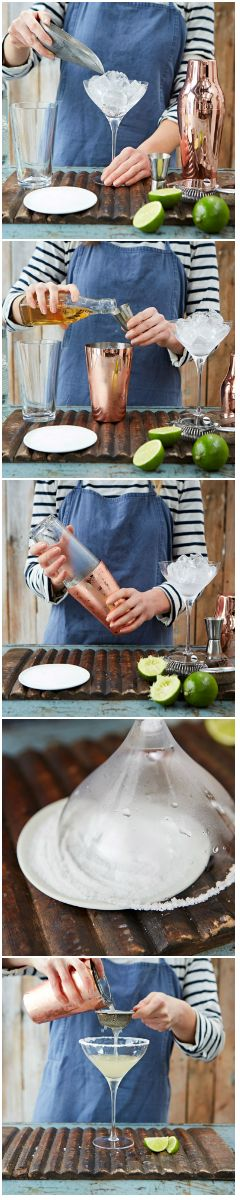 How to make the perfect margarita. Featuring the often misunderstood tequila, the classic margarita cocktail is the perfect drink to enjoy on a hot summer's day, or sip ahead of a barbecue.