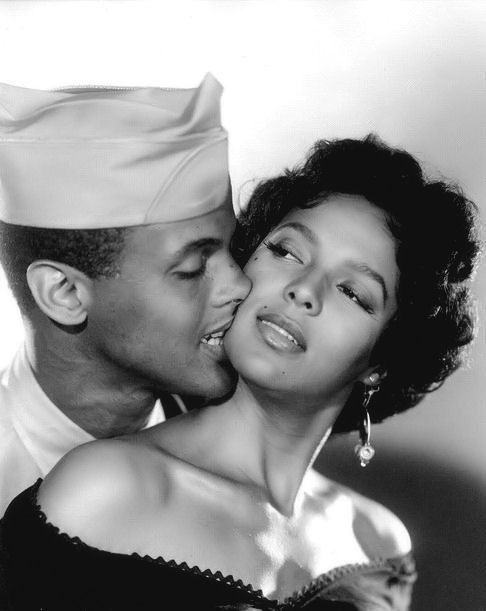 Dorothy Dandridge and Harry Belafonte in Carmen Jones. One of my favorite movies. So hot.
