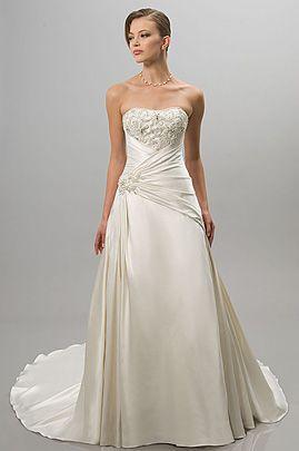 Alfred Sung Bridals 6802 Second Wedding Dressesruffle