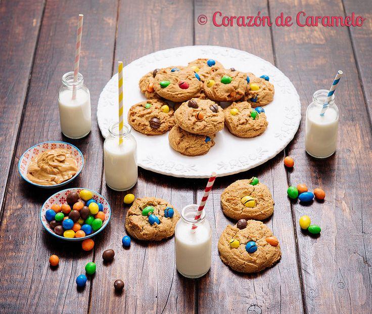 Galletas de Mantequilla de Cacahuete (Peanut Butter Cookies)