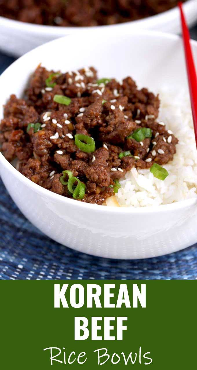This Korean Beef Is Savory Sweet And A Bit Spicy Very Easy To Make Budget Friendly And Ready In 20 Minu Beef Bulgogi Recipe Bulgogi Recipe Beef Recipes Easy