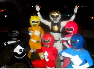 Coolest Power Rangers Costume... This website is the Pinterest of costumes