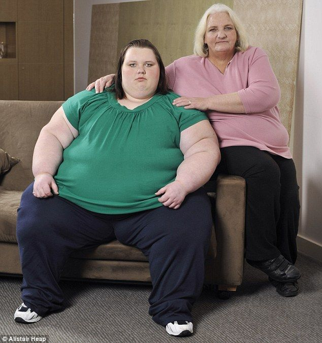 Aged just 17 and 40 stone How became Britain's